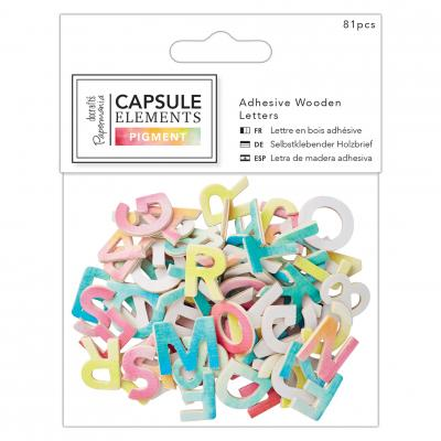 Capsule Collection - Elements Pigment Holzbuchstaben