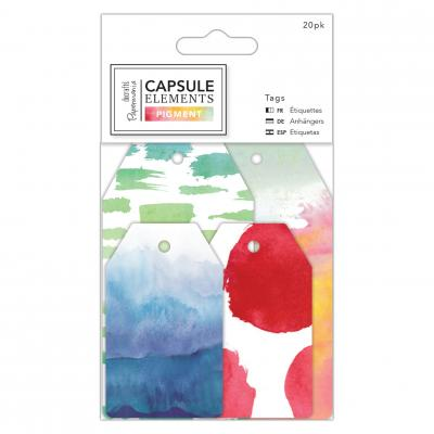 Capsule Collection - Elements Pigment Tags