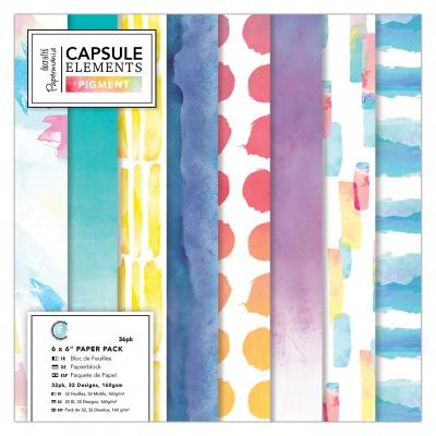 Capsule Collection - Elements Pigment 6x6'' Papierblock