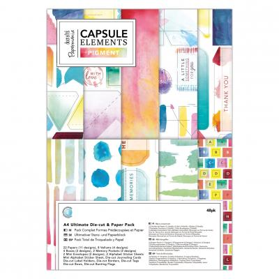 Capsule Collection - Elements Pigment Stanz- & Papierblock
