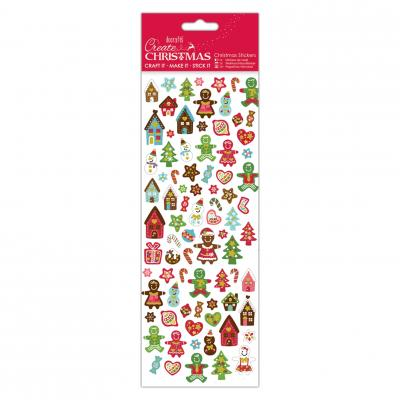 Christmas Stickers - Lebkuchen