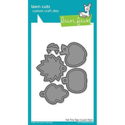 Lawn Fawn Stanzschablone Fall Tiny Tags