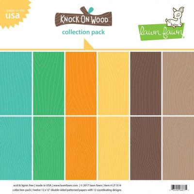 Lawn Fawn Collection Kit Knock on Wood