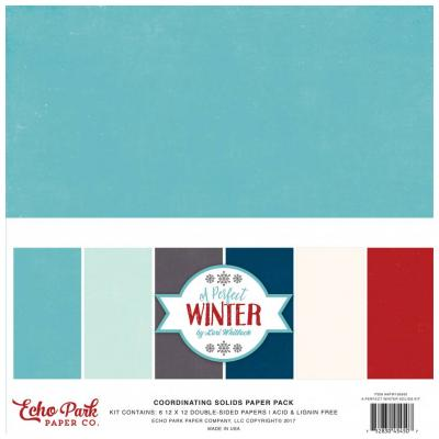 A Perfect Winter - Cardstock
