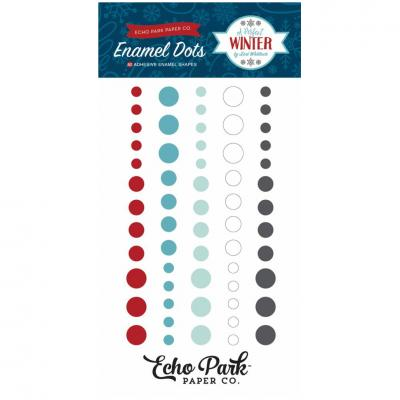 A Perfect Winter - Enamel Dots