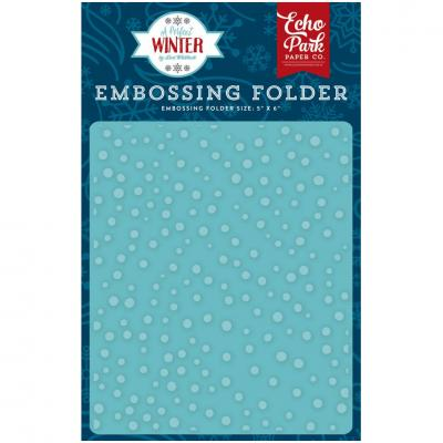A Perfect Winter - Snow Day - Embossing Folder