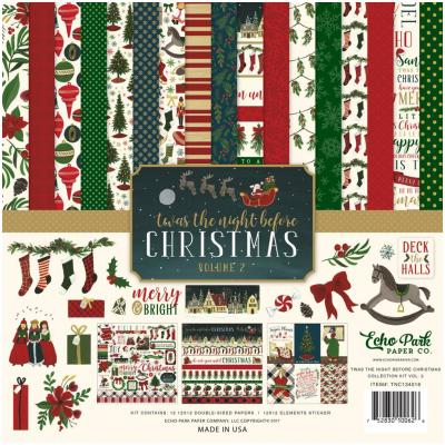 Twas The Night Before Christmas Vol.2 Collection Kit 12 x 12 Inch