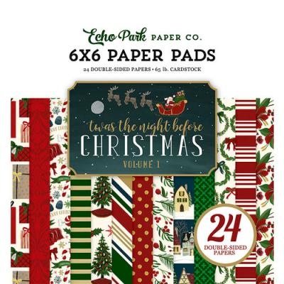 Echo Park 'Twas The Night Before Christmas - Paper Pad