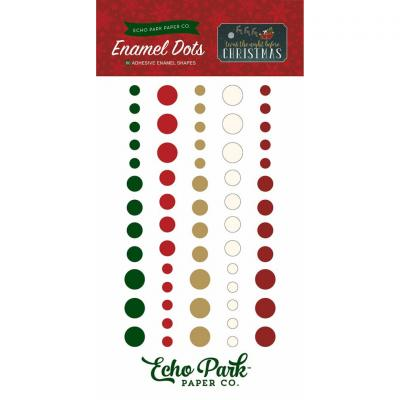 Twas The Night Before Christmas Enamel Dots Embellishments