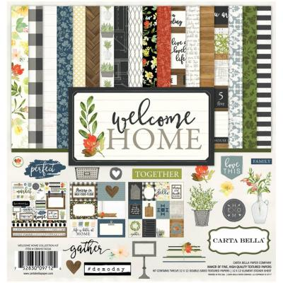 Carta Bella Welcome Home 12x2 Inch Collection Kit