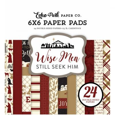 Echo Park Wise Men 6x6 Inch Paper Pad