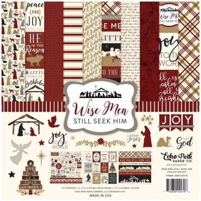 Echo Park Wise Men 12x12 Inch Collection Kit