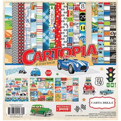 Carta Bella Cartopia 12x12 Inch Collection Kit
