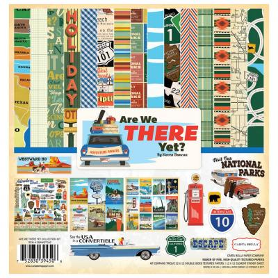 Carta Bella Are We There Yet? 12x12 Inch Collection Kit