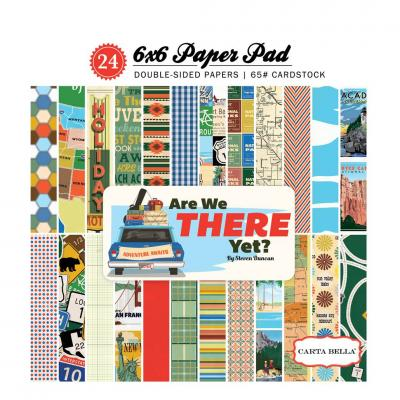 Carta Bella Are We There Yet? 6x6 Inch Paper Pad