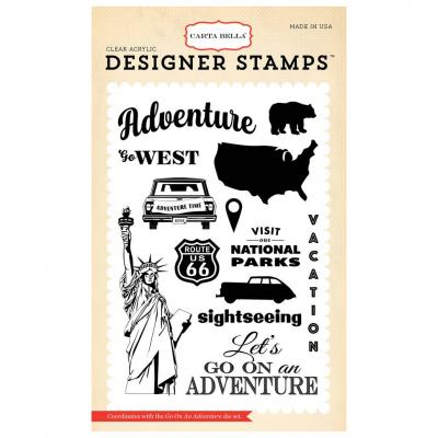 Carta Bella Go On An Adventure Stamp