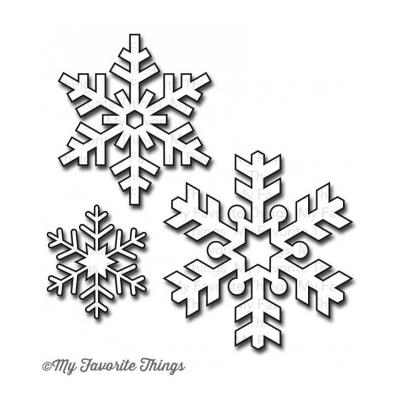 My Favorite Things Die-Namics Let it Snowflake Too
