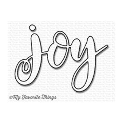 My Favorite Things Die-Namics Joy