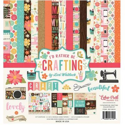 Echo Park I'd Rather Be Crafting Designpapier - Collection Kit