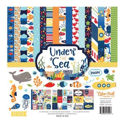 Under The Sea - Collection Kit 12x12 inch