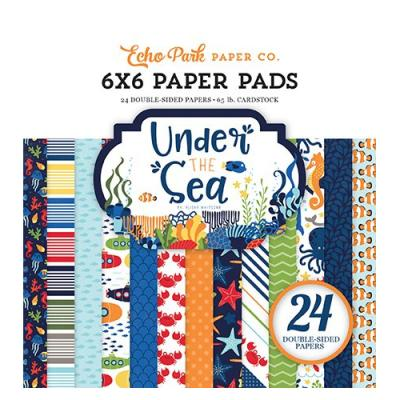 Under The Sea - Paper Pad 6x6 inch