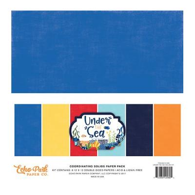Under The Sea - Cardstock 12x12 inch