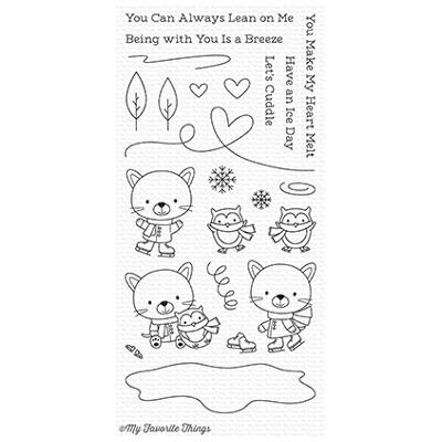 Clear Stamp My Favorite Things Die-Namics You Make My Heart Melt