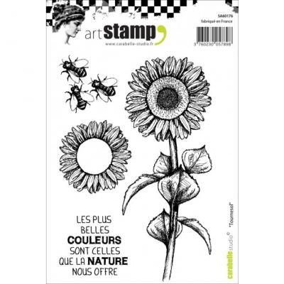 Sonnenblume Carabelle stamp A6 tournesol