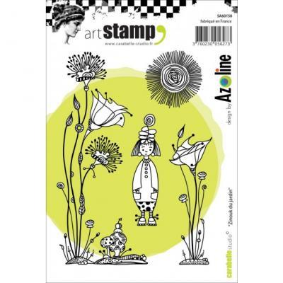 Madchen Carabelle Stamp Zinouk Du Jardin By Azoline