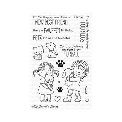My Favorite Things Clear Stamp New Best Friend