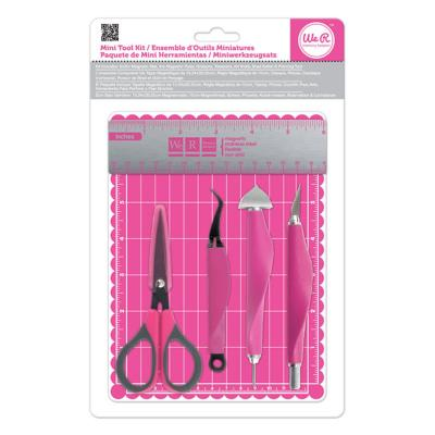 Schneidematte We R Memory Keepers mini tool kit & magnetic mat Mini Tool Kit & Magnet Matte