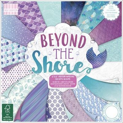 48 Blatt, 200gsmFirst Edition Beyond The Shore 12x12 Inch Paper Pad