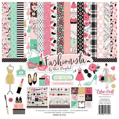 Echo Park Fashionista 12x12 Inch Collection Kit