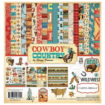 Carta Bella Cowboy Country 12x12 Inch Collection Kit