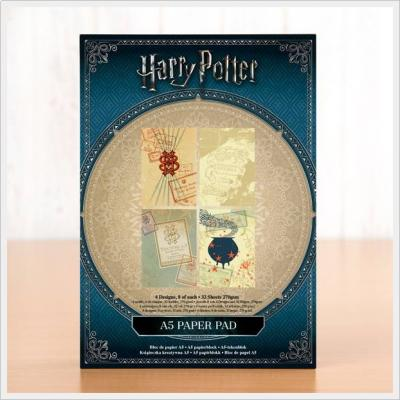 Harry Potter Backing Paper Pad A5 270gsm