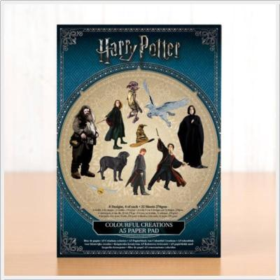 Harry Potter Colourful Creations Paper Pad A5 270gsm