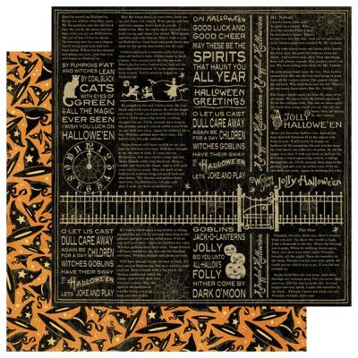 Graphic45 - Halloween 12 x 12 Graphic45 30,5x30,5cm double-sided paper