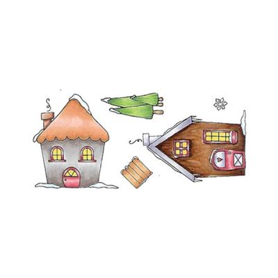 Swiss Pixie Stempel Snow Village