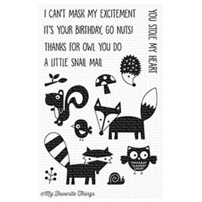 My Favorite Things Friendly Forest Clear Stamps