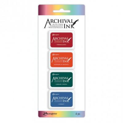 Ranger archival mini ink pad kit 1