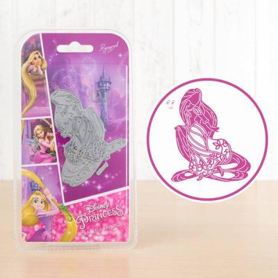 Disneys Rapunzel Stanzschablone - Graceful Rapunzel