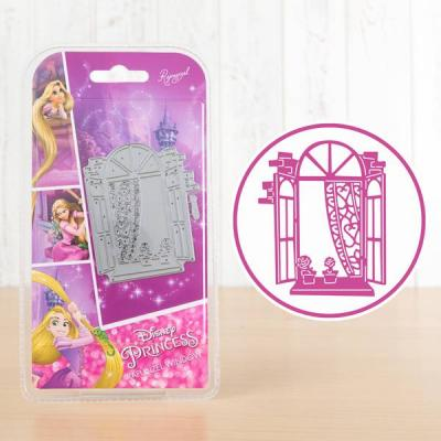 Disneys Rapunzel Stanzschablone - Rapunzel Window