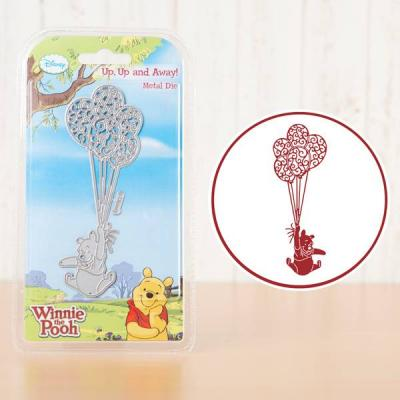 Stanzschablone Winnie the Pooh Up, Up and Away | kreativbunt