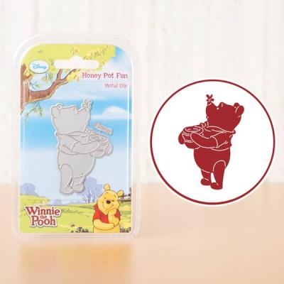 Stanzschablone Winnie the Pooh Honey Pot Fun