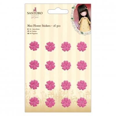Gorjuss Spring & Sommer Collection - Gorjuss Mini Blumen Sticker