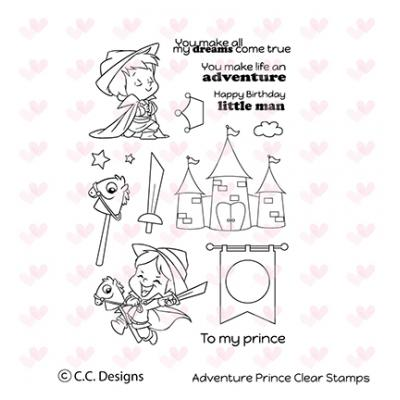 C. C. Designs Clear Stamp Adventure Prince