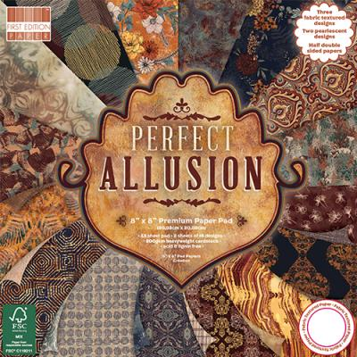 First Edition Perfect Allusion 8x8 Inch Paper Pad