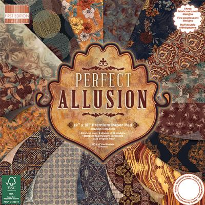 First Edition Perfect Allusion 12x12 Inch Paper Pad