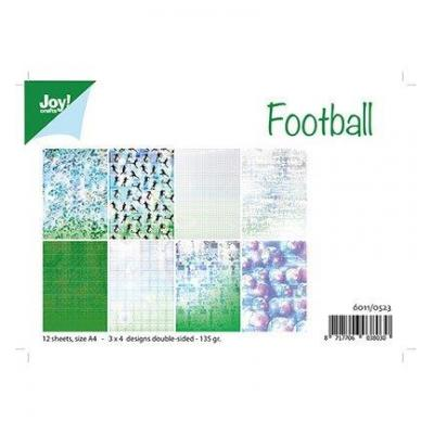 Football Joy! Desingpapier DIN A4 12 Blatt