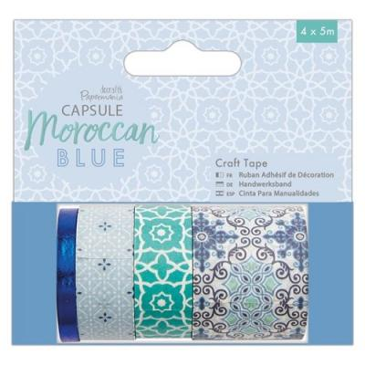 Capsule Collection Moroccan Blue - Washi Tape